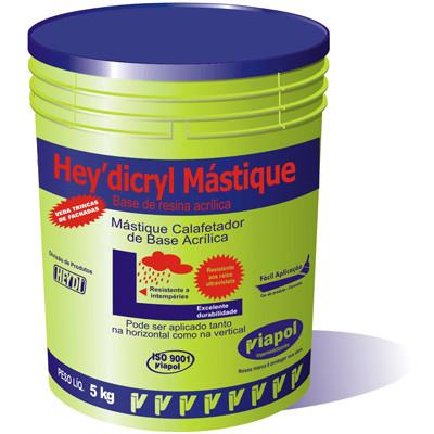 HEYDICRYL MASTIQUE BRANCO BD 5 KG