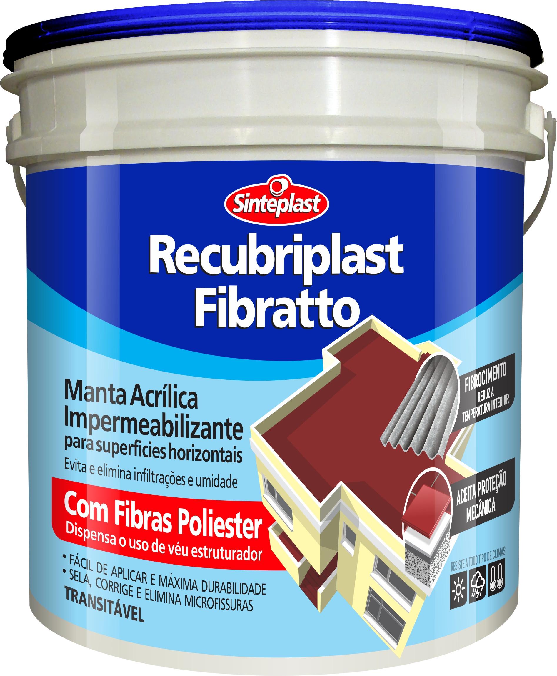 RECUBRIPLAST FIBRATTO BRANCO 12 KG