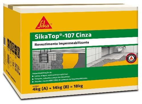 Sikatop 107 Cinza 18kg