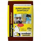 Supergraute quartzolit sc 25kg (venda GRANDE SP)